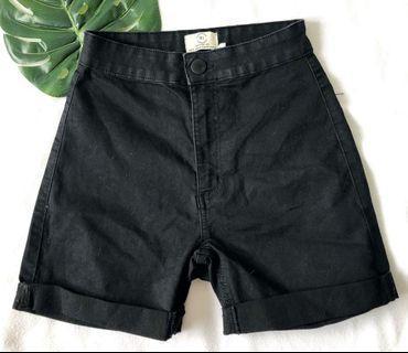 Black biker shorts - Cotton on (size 27)