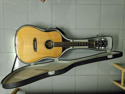 Cort AS-E5 [All Solid] Acoustic Guitar w/ LR Baggs Pickup