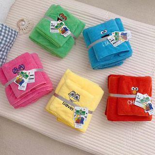 日本環球USJ芝麻街浴巾套裝