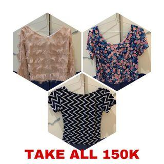 3 TOPS FOR 150K
