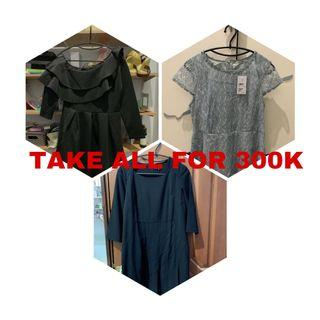 3 PARTY DRESSES FOR 300K