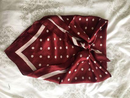Silk scarf / tie up top