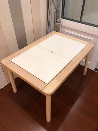 IKEA FLISAT 兒童桌 附兩個收納盒