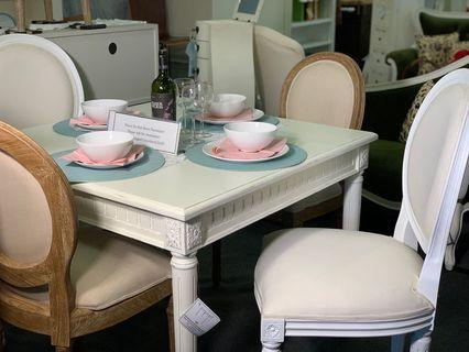 French Dining Table and Chairs Set TeakCo.com FREEShip %OFF