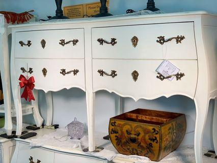 Victorian French Chest of Drawers Buffet NEW TeakCo.com