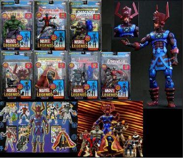 🚚 Toybiz Marvel Legend Galactus Series