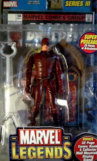 🚚 Toy biz Marvel Legends Daredevil