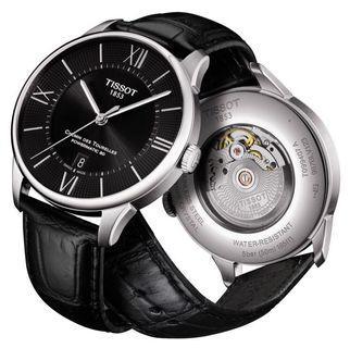 🚚 Tissot Chemin Des Tourelles Powermatic 80 Black Watch T099.407.16.058.00
