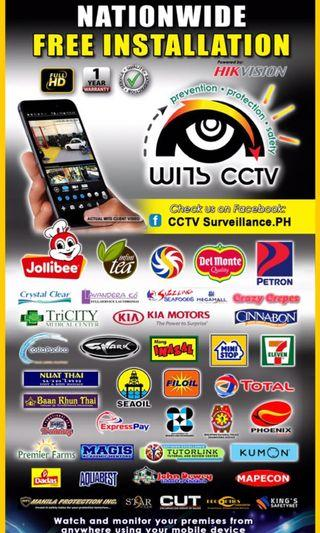 FREE Installation CCTV Package fullHD 1080P Cameras Dome bullet