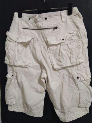 🚚 白色五分褲