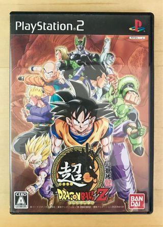 原裝 日版 PS2 遊戲 Super DragonBall 超龍珠Z 3 Playstation 2 Game NTSC J NAMCO 動作 Action