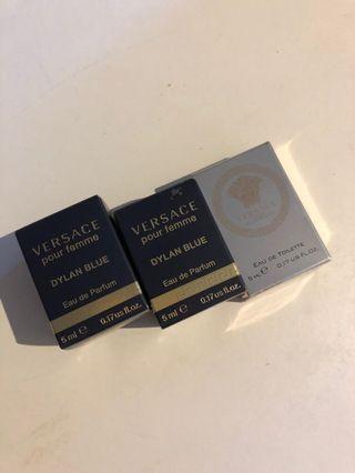 Versace parfum 5ml X 3