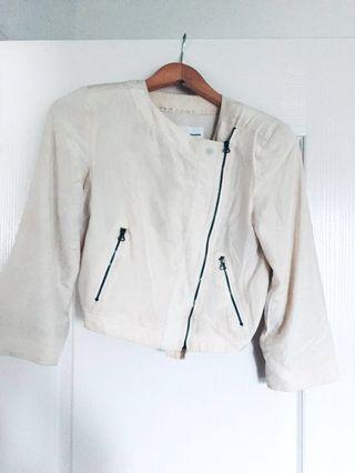 Club Monaco 100% Silk Jacket