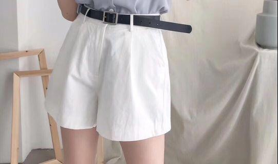 White Pants premium korean import ready stock #maugopay