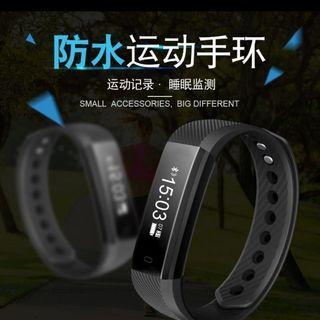 ID 115智能手環(黑色)