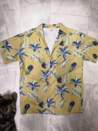 Hawaiian Pineapple Shirt