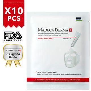 🚚 Instocks! BNIB Sealed! MADECA DERMA Mask II x 10 pcs #MRTRaffles #MRTBedok #MRTTampines #AmplifyJuly35