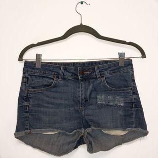 H&M Denim Shorts #SwapCA