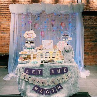 Hot Air Balloon x Jellycat Dessert Table