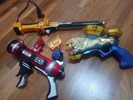 🚚 Pre-💗 Kamen Rider Fouze weapons