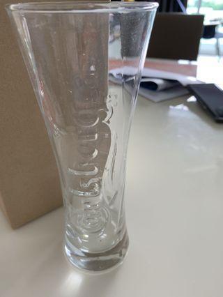 Drinking Glass Carlsberg Beer