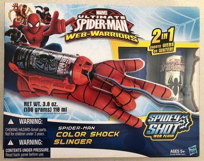 Marvel Ultimate Spider-Man Web Warriors Spider-Man Color Shock Slinger