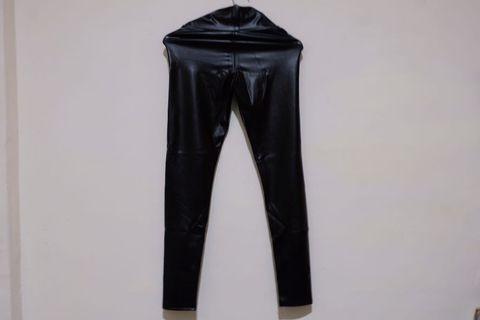 女用皮褲 leather pants vintage