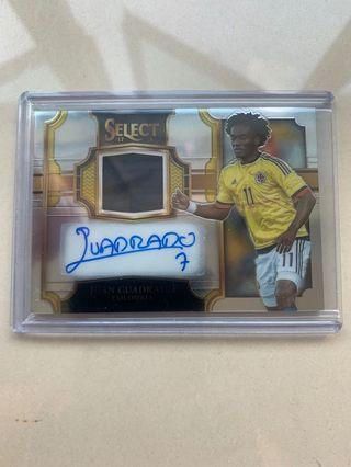 Select Panini Juan Cuadrado Auto Patch 231/299