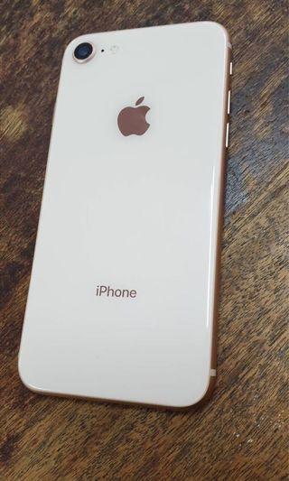 🚚 自售 iphone 8 金色 256g 4.7吋 盒裝配件完整