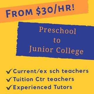 1 to 1 Home Tuition