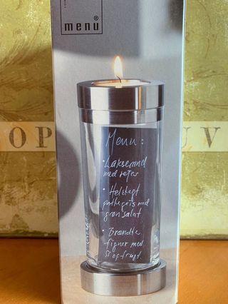 Brand new Danish Designer vase/ candle holder/ display