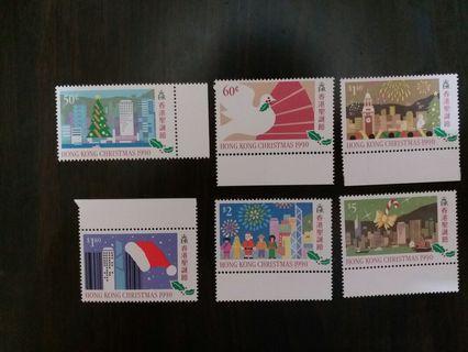 聖誕節郵票