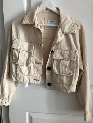 Bershka Cropped Jacket, XS