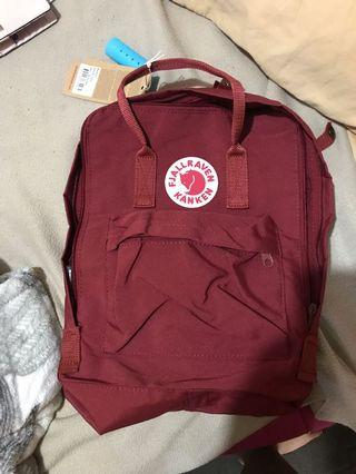 Ox Red Kanken Classic Bag Backpack