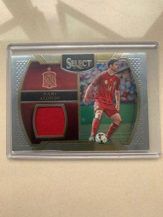 🚚 Panini Select Xabi Alonso Spain Patch