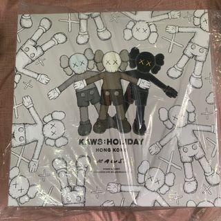 "KAWS:HOLIDAY 香港站 限量 20"" 毛公仔套裝 box set"