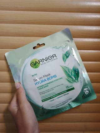Garnier Sheetmask Green Tea