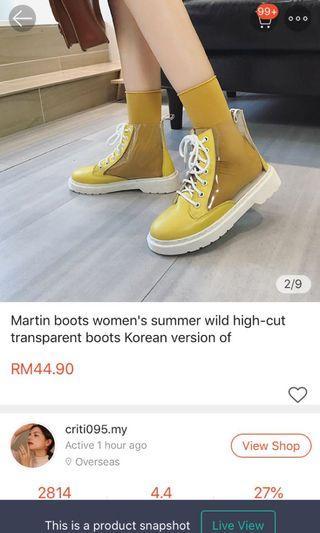Highcut boot