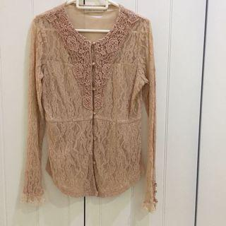Somerset Bay Lace Top