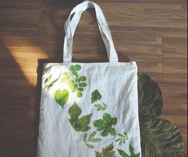 Totebag daun secang ecology