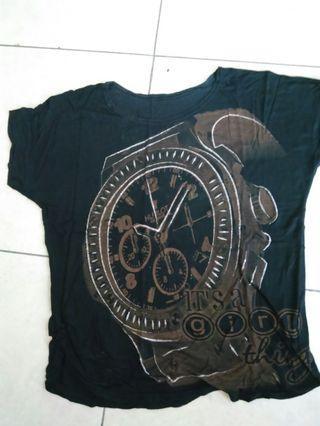 Kaos hitam fashion