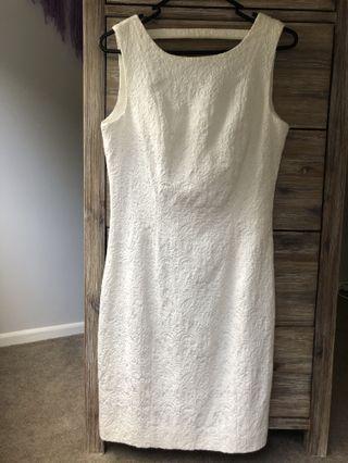 BNWT white lace dress