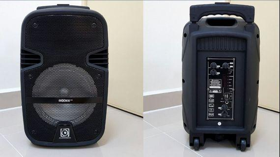 PORTABLE RECHARGEABLE TROLLEY SPEAKER