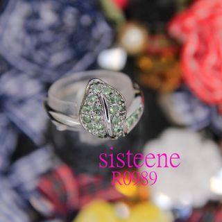 R0989純銀戒指925 Silver Ring