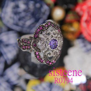 R0794純銀戒指925 Silver Ring