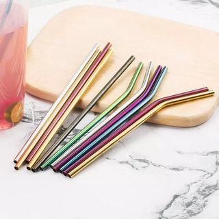 Colourful Stainless Steel Straw