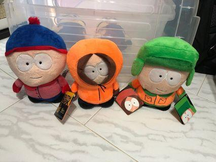 🚚 South Park stuffed toy