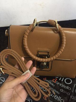 slingbag choco donatello new