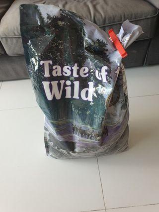 Taste of the Wild for Dogs 13kg