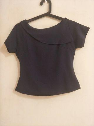 Navy blue blouse small size